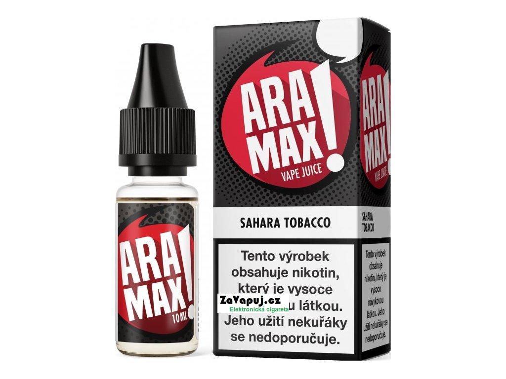 Liquid Aramax - Tabák (Sahara Tobacco) 10ml 3mg