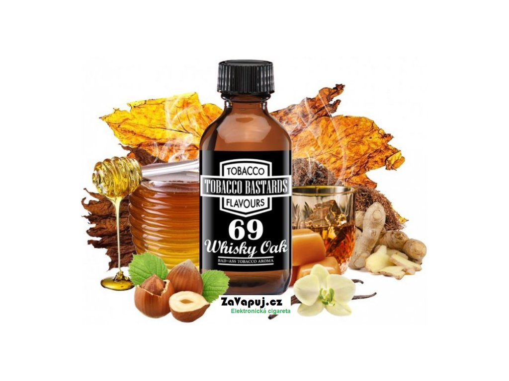 Příchuť Flavormonks 10ml Tobacco Bastards No.69 Whiskey Oak