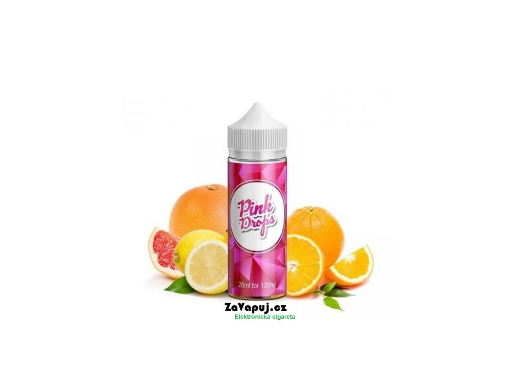 Příchuť Infamous Drops S&V Pink Drops (Citrusový mix) 20ml