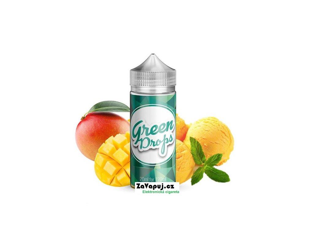Příchuť Infamous Drops S&V Green Drops (Chladivá mangová zmrzlina) 20ml