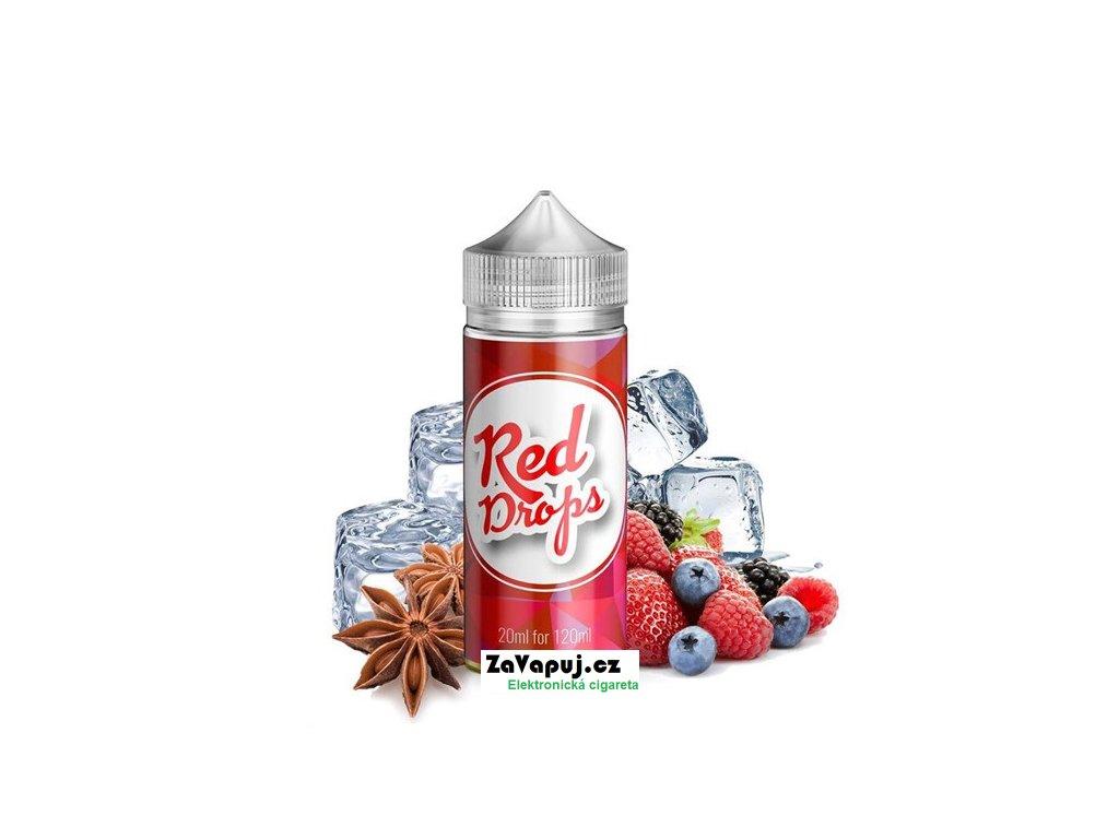 Příchuť Infamous Drops S&V Red Drops (Bobulovitá směs s anýzem) 20ml