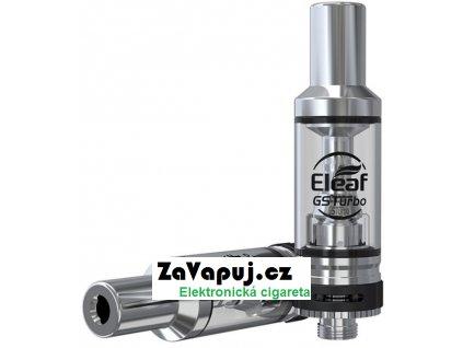 Clearomizér iSmoka-Eleaf GSTurbo Tank 1,8ml Stříbrný