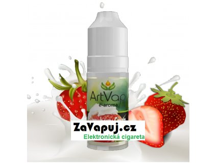 vyrn 9902mockup Art Vap Strawberry Cream 1