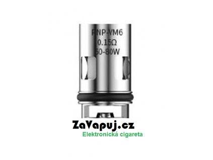 Žhavicí hlava VOOPOO PnP - VM6 0,15ohm