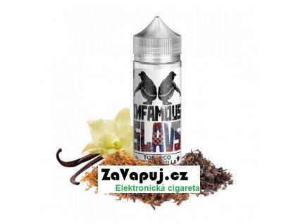 Příchuť Infamous Slavs S&V Tobacco With Vanilla (Tabák s vanilkou) 20ml