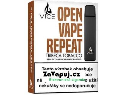 Elektronická cigareta VICE Tribeca Tobacco 20mg 3Pack