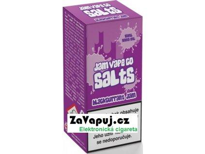 Liquid Juice Sauz SALT The Jam Vape Co Blackcurrant Jam 10ml - 10mg