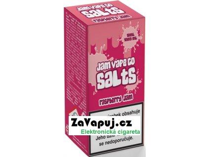 Liquid Juice Sauz SALT The Jam Vape Co Raspberry Jam 10ml - 10mg