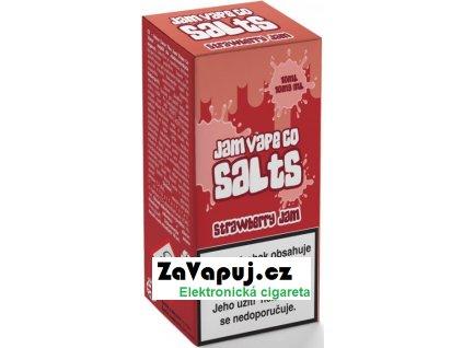 Liquid Juice Sauz SALT The Jam Vape Co Strawberry Jam 10ml - 10mg
