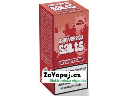 Liquid Juice Sauz SALT The Jam Vape Co Strawberry Jam 10ml - 20mg