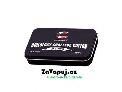 Přírodní vata Coilology Shoelace Cotton (20ks)