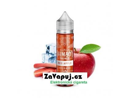 Příchuť Ohmboy Volume III S&V Ledové jablko s rebarborou 15ml