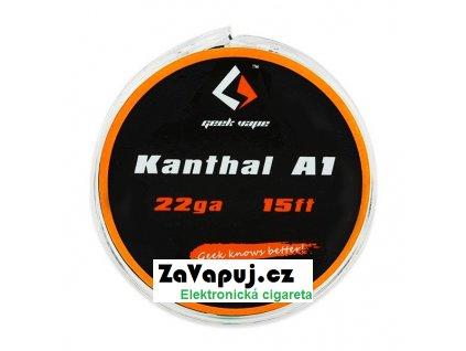 Kanthal A1 odporový drát 0,65mm 22GA (5m) GeekVape
