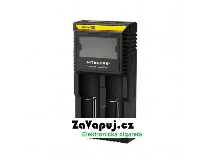 Multifunkční nabíječka baterií Nitecore Intellicharger D2 LCD (2 sloty)
