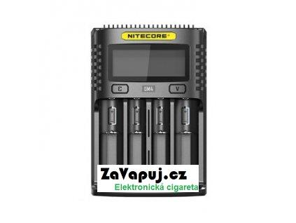 Multifunkční nabíječka baterií Nitecore Intellicharger UM4 LCD (4 sloty)