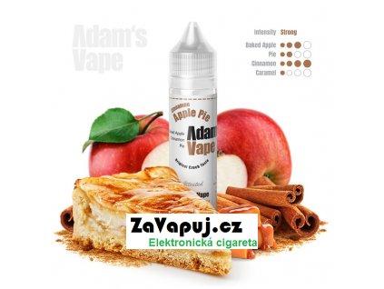 Příchuť Adams vape S&V Cinnamon Apple Pie (Pečená jablka v karamelovém těstě se skořicí) 12ml