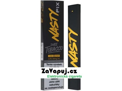 Elektronická cigareta Nasty Juice Fix Pure Tobacco 20mg