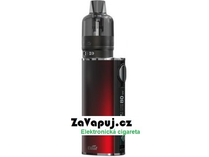 Elektronická cigareta iSmoka-Eleaf iStick T80 GTL Pod Tank 3000mAh Gradient Red