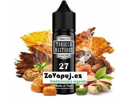 Příchuť Flavormonks Tobacco Bastards Shake and Vape 12ml No.27 Pistachio Tobacco