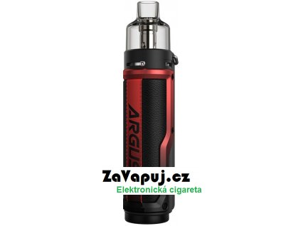 Elektronický grip  VOOPOO Argus X 80W Litchi Leather and Red