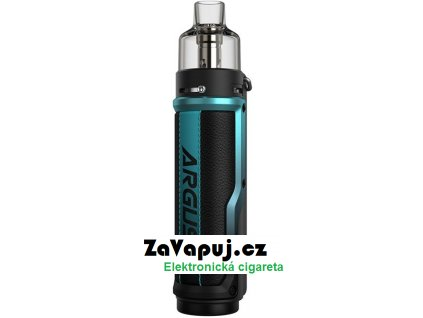 Elektronický grip  VOOPOO Argus X 80W Litchi Leather and Blue
