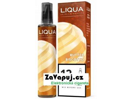 Příchuť Liqua Mix&Go 12ml Butter Biscotto