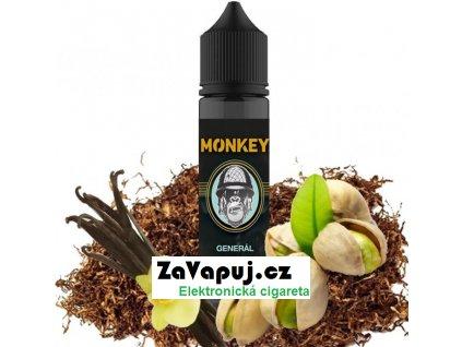 Příchuť MONKEY liquid Shake and Vape Generál (Tabák s pistácií a vanilkou) 12ml