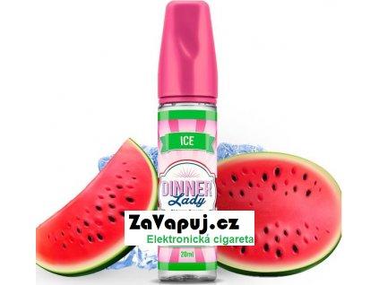 Příchuť Dinner Lady ICE 20ml Sweets Watermelon Slices Ice