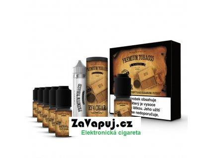 Liquid Premium Tobacco - RY4 Cigar 6x10ml 3mg