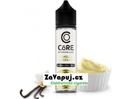 Příchuť Core by Dinner Lady S&V 20ml Vanilla Custard