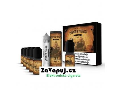 E liquid DIY sada Premium Tobacco 6x10ml 3mg CHB