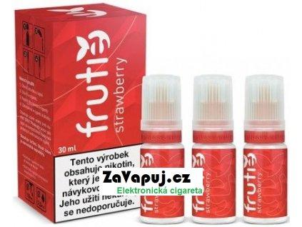 E liquid Frutie Jahoda (Strawberry) 30ml