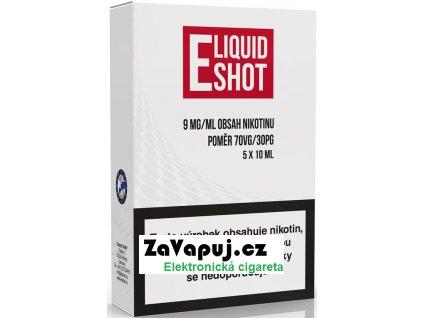 5 pack E Liquid Shot Booster 30PG70VG 9 mgml