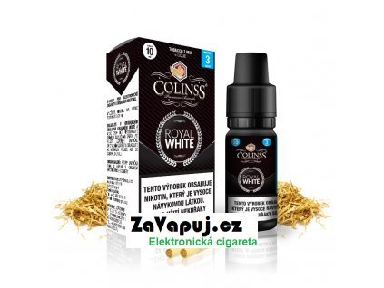 Colinss eliquid 10ml Royal White OK