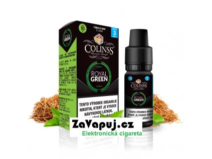 Colinss eliquid 10ml Royal Green OK