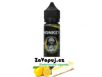 Příchuť Monkey Shake & Vape: Lemon Lady V2 (Citronový koláč) 12ml