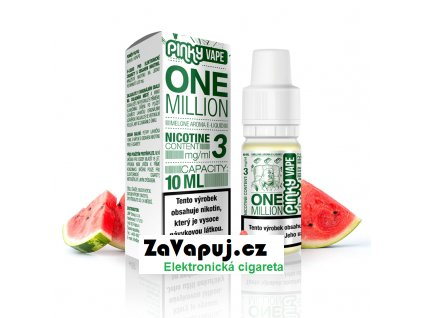 PinkyVape eliquid 10ml One Million