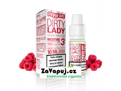 PinkyVape eliquid 10ml Dirty Lady