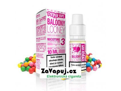 PinkyVape eliquid 10ml Baloony Looney