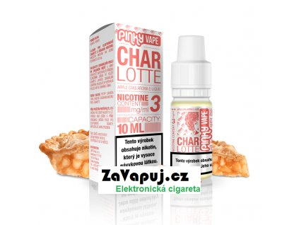 PinkyVape eliquid 10ml Charlotte