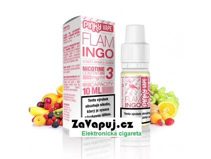 PinkyVape eliquid 10ml Flamingo