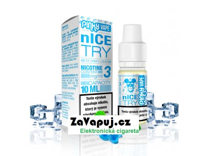 PinkyVape eliquid 10ml nIce Try