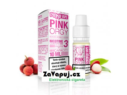 PinkyVape eliquid 10ml Pink Orgy