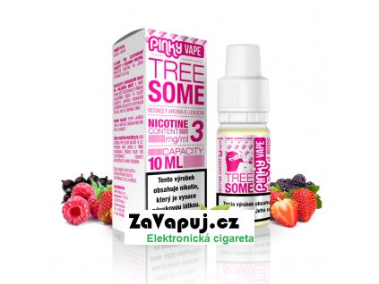 PinkyVape eliquid 10ml Tree Some
