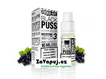 PinkyVape eliquid 10ml Black Puss