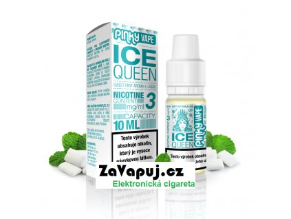 PinkyVape eliquid 10ml Ice Queen