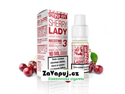 PinkyVape eliquid 10ml Sherry Lady