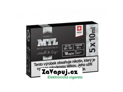 Booster báze JustVape MTL (50VG50PG) 5x10ml 18mg