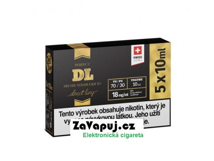 Booster báze JustVape DL (70VG30PG) 5x10ml 18mg