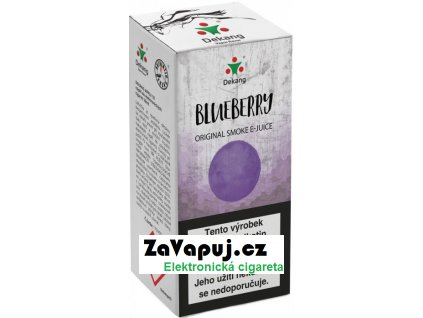 Liquid Dekang Blueberry 10ml - 18mg (Borůvka)